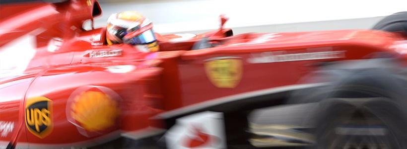 Marciello pushed hard in the Abu Dhabi Ferrari test