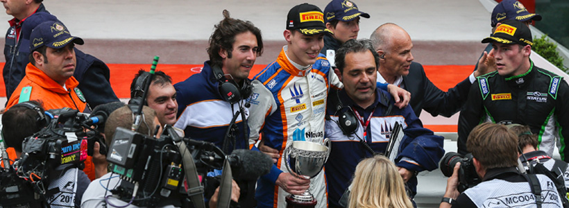 Prestigious Podium finish in Montecarlo