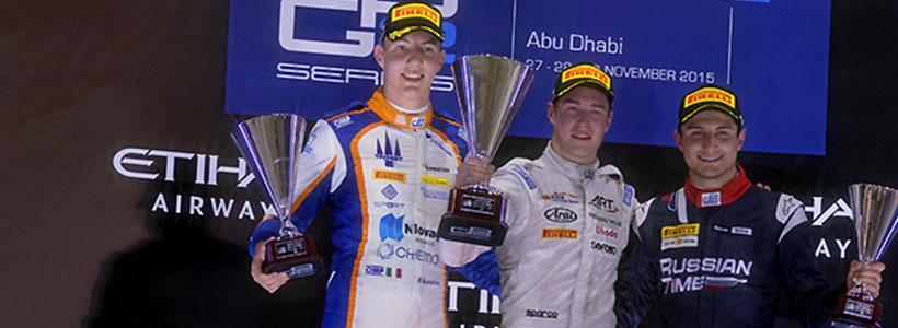 Fourth podium of the season in the United Arab Emirates
