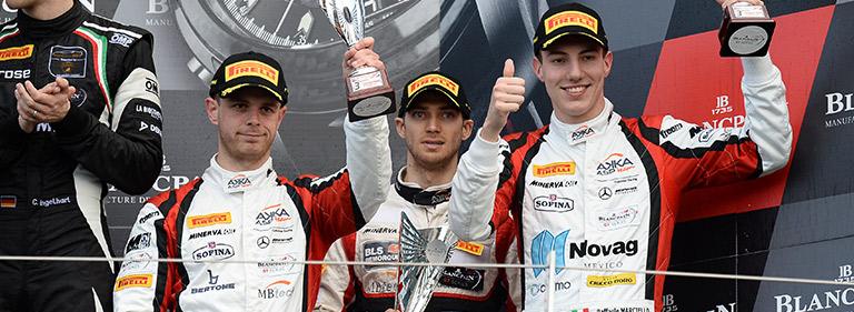 A precious podium in Silverstone