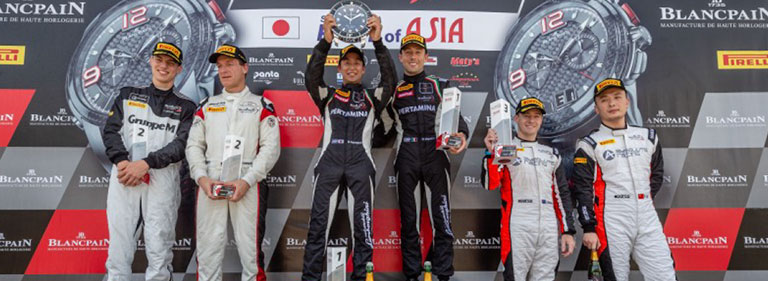 SUZUKA: DOUBLE PODIUM IN THE PRO-AM CLASS