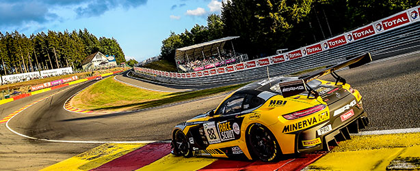 24H SPA FRANCORCHAMPS:  SIXTH PLACE AND PRECIOUS POINTS