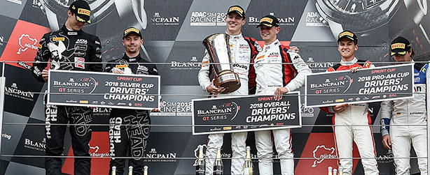 MARCIELLO CROWNED CHAMPION OF THE BLANCPAIN GT SPRINT