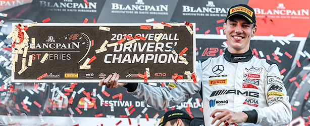 MARCIELLO CROWNED CHAMPION OF THE BLANCPAIN GT SERIES!
