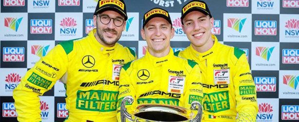 MARCIELLO GRABS THE POLE, FINISHES THIRD