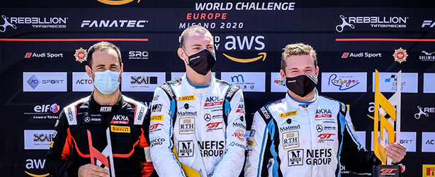 MARCIELLO GRABS A POLE AND TRIUMPHS IN THE GT WORLD CHALLENGE SPRINT