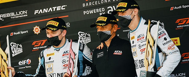 A WIN AND A THIRD PLACE IN BARCELONA PUT MARCIELLO ON THE CHAMPIONSHIP'S PODIUM