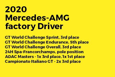 Mercedes AMG factory driver - Raffaele Marciello