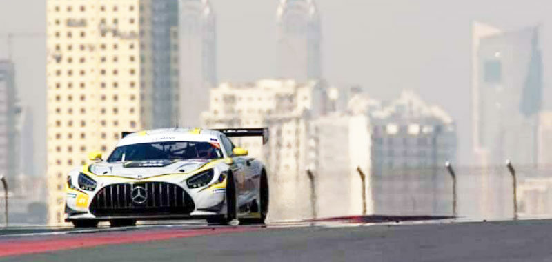 MARCIELLO OFF TO A BAD START IN DUBAI: A WITHDRAWAL AND A FOURTH PLACE
