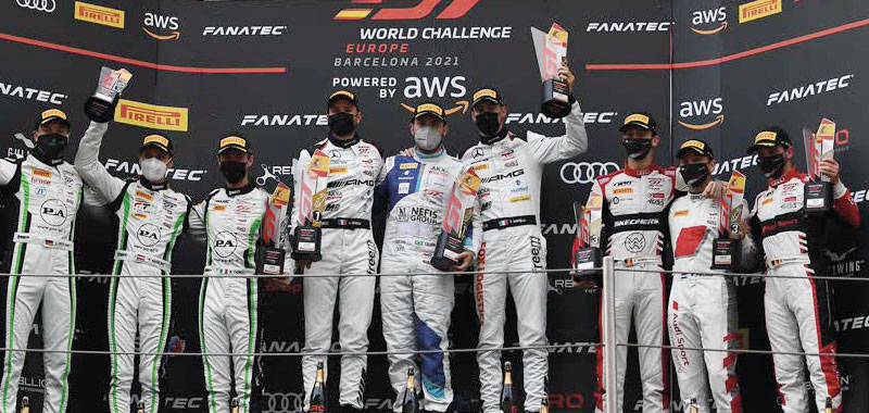 WHAT A WEEKEND! A POLE AND A VICTORY FOR MARCIELLO IN THE ENDURANCE RACE SERIES